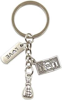 YCEOT Sleutelhanger Mode Sleutelhanger Diy Metalen Houder Ketting Sieraden Voor Gift