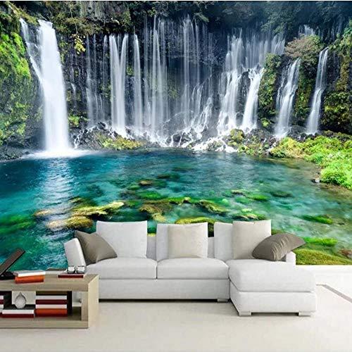 Tapeten Benutzerdefinierte 3D Fototapete Natur Landschaft Schöne Wasserfall Große Wandbilder Wohnzimmer Sofa Schlafzimmer Hintergrund Wandbild