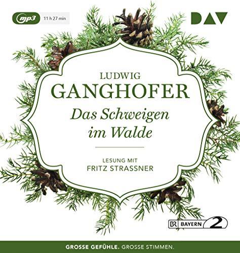 Das Schweigen im Walde: Lesung mit Fritz Straßner (1 mp3-CD)