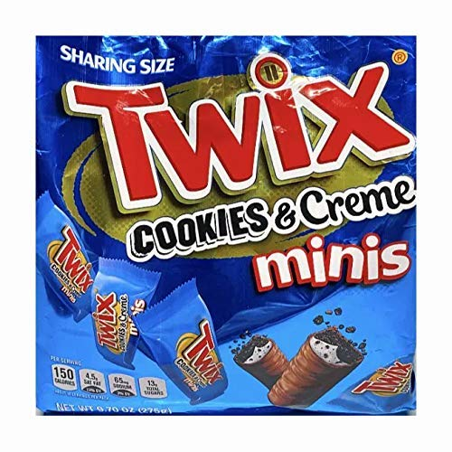 image of Twix Cookies n Creme Minis