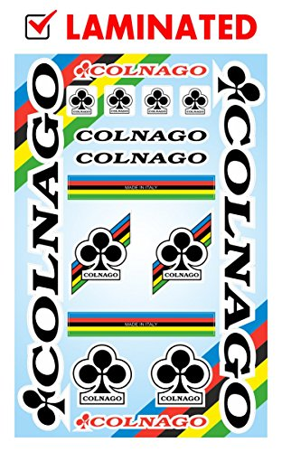 Colnago Decals Stickers Bicycle Frame Replacement Graphic Set