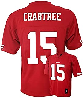 49ers michael crabtree jersey