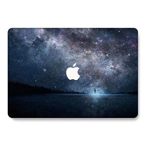 MacBook Retina 12 inch Case 2015/2016/2017 Ver A1534, Jiehb Plastic Hard Shell Case Only Compatible MacBook 12 inch with Retina Display Model: A1534 - Starry Sky