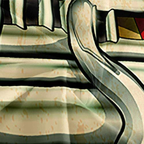HKDGHTHJ Fundas nordicas Cama Coche de Pista Retro 200 x 200 CM Juego de Cama Moderno Sábana Plana Funda nórdica Funda de Almohada Ropa de Cama Lateral Textiles para el hogar