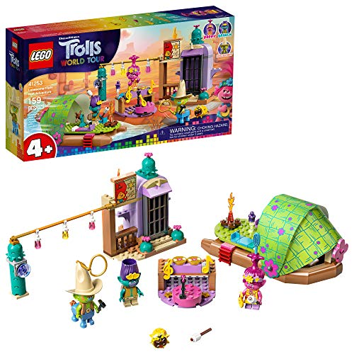 LEGO Trolls World Tour Lonesome Flats Raft Adventure 41253 Kids Building Kit , Great Trolls Gift for Creative Kids, New 2020 (159 Pieces)