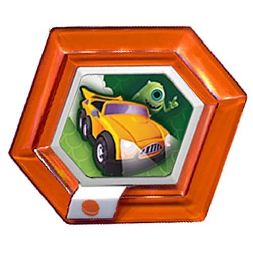 Disney Infinity Power Disc - Series 1 - Mikes New Car - Rare Orange Disc - TRU exclusive binder edtion [video game] by Disney Infinity