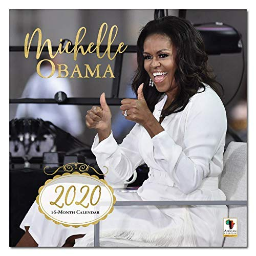 African American Expressions 2020 Wall Calendars - 2020-2021 Monthly Calendars Celebrating Black Culture & History - 12x12 Hanging Calendar - 16 Months - Michelle Obama