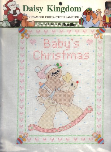 Daisy Kingdom: Stamped Cross-stitch Sampler (Baby's Christmas, Bucilla 63443)