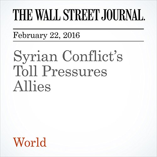 Syrian Conflict's Toll Pressures Allies audiobook cover art