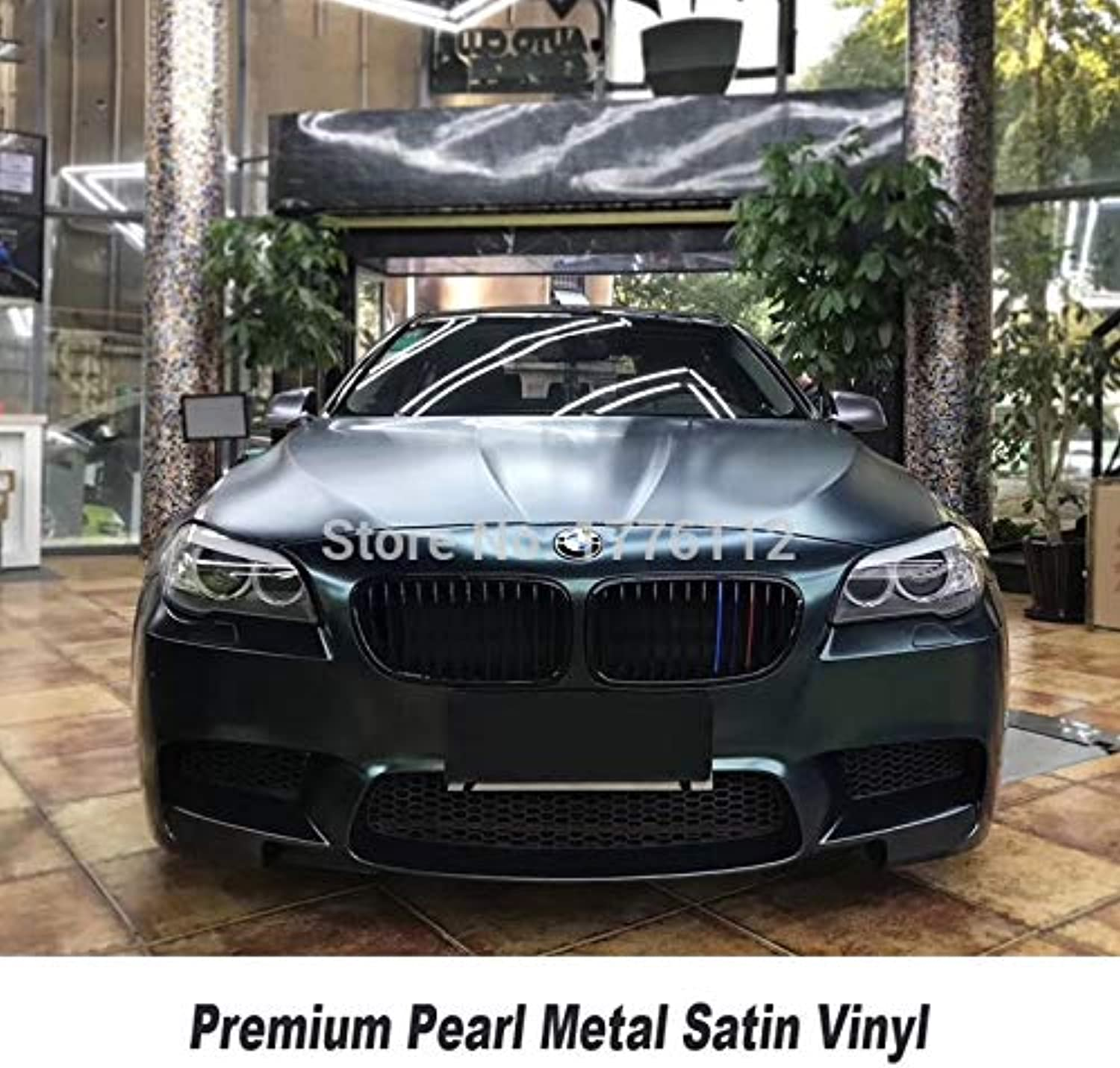 Highest Quality Forest Green Car Wrapping Film with Air Bubble Free Matte Car Wrap Styling Covering with Best Glue(Size  1.52m X 5m)