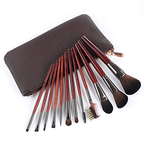 Pinceau de maquillage 12 pcs manche en bois fard à paupières Fondation Lèvres Pinceau de maquillage Brosse à maquillage XXYHYQ