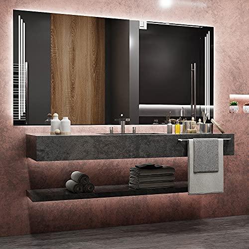 ARTTOR Espejo Baño con Luz - Espejos Pared -  Decoracion Ho