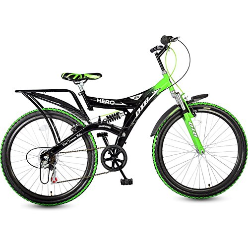 HERO Ranger DTB 6 Speed Green 26T Frame Size: 16.7 inches,...