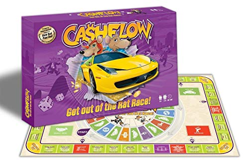 The Original Rich Dad CASHFLOW 101 SPANISH Board Game with Exclusive Bonus Message from Robert Kiyosaki by Rich Dad