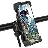 Modohe Soporte Movil Moto, Universal 360° Soporte Movil Bicicleta para iPhone 12 Mini, 12 Pro MAX, 11 Pro, XS, MAX, X, XR, 8, 7, 6S, Samsung S10 S9 S8, Huawei, Xiaomi, 4-6.8' Smartphones
