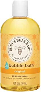 Burt's Bees Baby Bubble Bath, Tear Free Baby Wash - 12 Ounce Bottle
