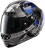 X-Lite X-803 RS Ultra Carbon Tatanka - Auriculares de diadema (talla L), color negro y gris