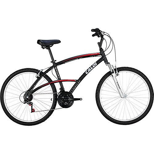 Bicicleta Alumínio 100 Sport Aro 26 Preto 1 Un Caloi