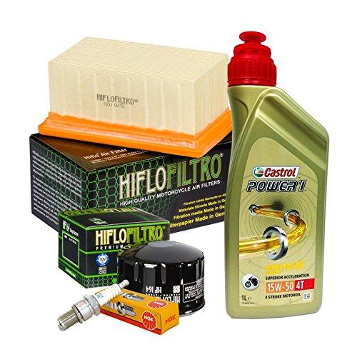 Tagliando Castrol 15W50 Filtro Olio Aria Candele R 1200 GS/R/RT/Nine T