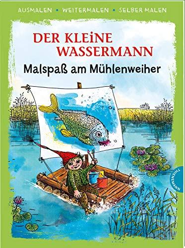 Der kleine Wassermann. Malspaß am Mühlenweiher: | Das kreative Malbuch zum Kinderbuch-Klassiker von Otfried Preußler (Ausmalen, weitermalen, selber malen)