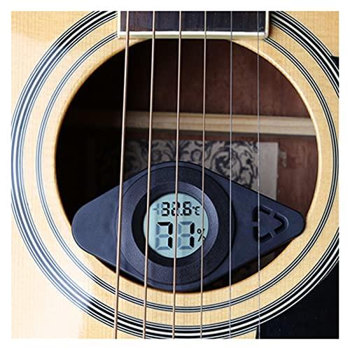 Yi-Achieve 3 in 1 Deumidificatore per Chitarra Igrometro Guitar Guitar Umidificatore Sound Foro umidità umidità umidità Moisturizer Accessorio Strumento Musicale ((Color : Zwart)