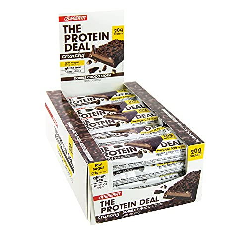 Enervit The Protein Deal Bar, Double Choco Storm, 25 x 55 g