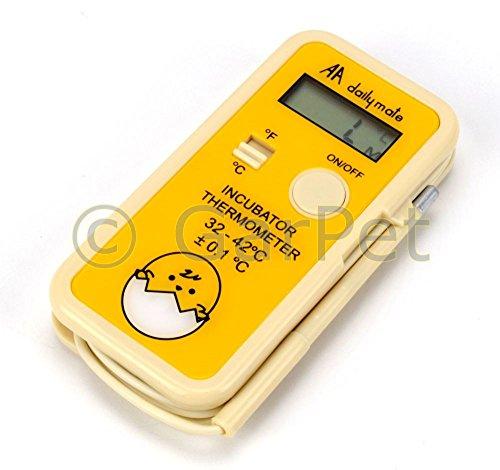 GarPet Digitales Brutthermometer Thermometer für die Brutmaschine Inkubator Brüter