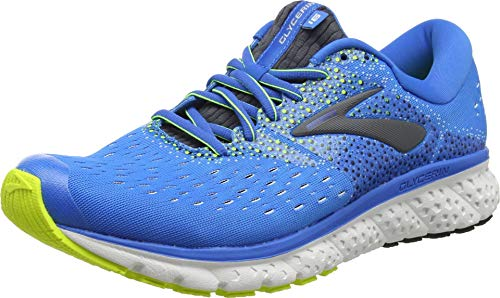Brooks Herren Glycerin 16 Laufschuhe, Blau (Blue/Ebony/Nightlife 437), 41 EU