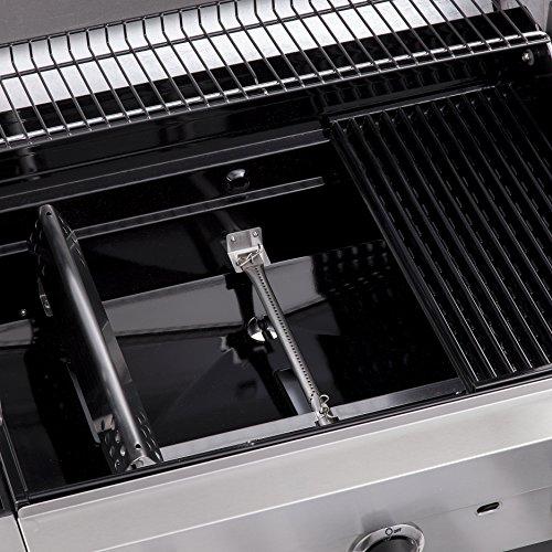 Char-Broil Convective Series 440S -- Barbecue à gaz à 4 brûleurs avec brûleur latéral, finition...