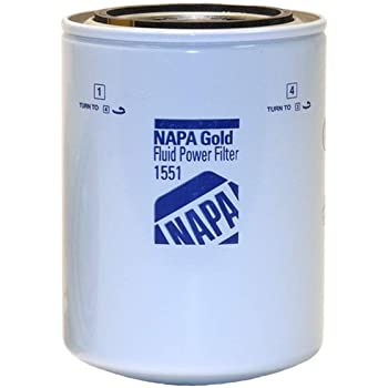 NAPA 600006 Gold Fluid Filter Spin-on Enhanced Cellulose