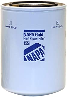 Napa Gold 1551 Spin-On Hydraulic Filter - 5.2X3.66