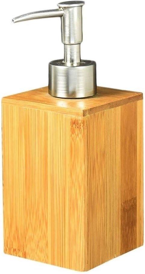 Soap Mesa Mall Ranking TOP18 Dispenser Square Bamboo Bath Lotion and