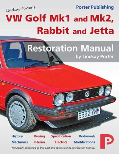 VW Golf Mk1 and Mk2, Rabbit and Jetta Restoration Manual
