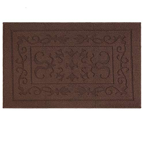 Indoor Doormat Front Door Mat Non Slip Rubber Backing Super Absorbent Mud and Snow Magic Inside Dirts Trapper Mats Entrance Floor Rugs Shoes Scraper Machine Washable Carpet - 24' x 36'