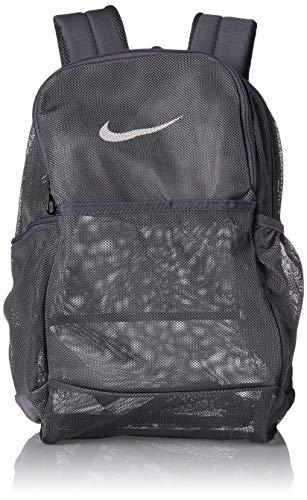 Nike Unisex Adulto Brasilia Mesh Mochila - 9.0, Negro, MISC