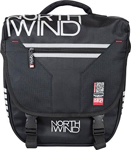 NorthWind Einzeltasche für Gepäckträger mit Klippsystem 16 L
