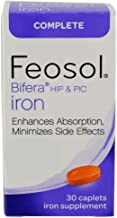 Feosol Complete with Bifera Iron Caplets 30ct