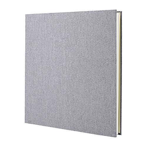 VEESUN Photo Album Scrapbook, Linen Self Adhesive Scrap Book, 28cm x 27cm...