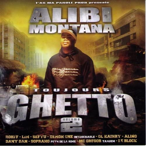 Cover Alibi Montana - Toujours ghetto vol. 2
