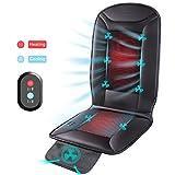 Naipo Chauffage et Refroidissement Coussin de siège de Voiture avec Housse Double-Zone Respirant 3D Trous ventilé pour 4Saisons Utilisation