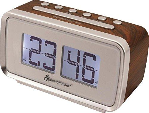 Soundmaster Dual Alarm (2 Weckzeiten)
