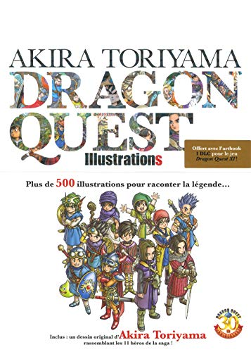Akira Toriyama - Dragon Quest - Illustrations (Seinen/Dragon Quest)