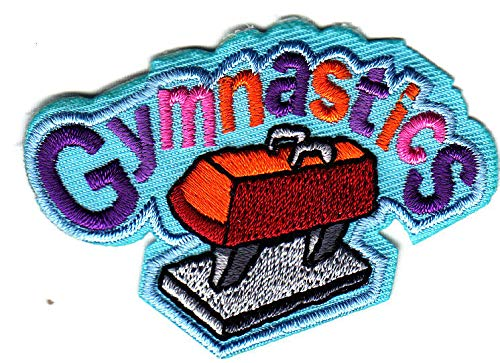 GYMNASTICS Iron On Patch Sports Competition Gym