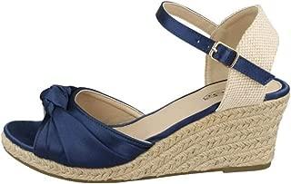 Spot On Womens/Ladies Wedge Sandals