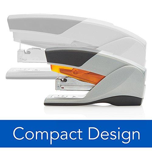 Swingline Stapler, Optima 25, Compact Desktop Stapler, 25 Sheet Capacity, Reduced Effort, Orange/Gray (66412) Photo #2