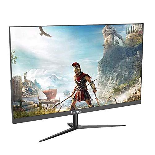 23.8 Zoll Gaming Monitor, Prechen Monitor Full HD (1920 x 1080), IPS Panel, 60 Hz, mit HDMI- und VGA-Schnittstelle, PC Monitor für PS3 / PS4 / Xbox