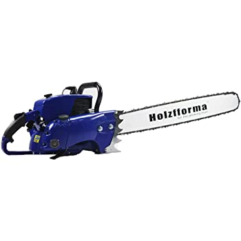 105cc Holzfforma Blue Thunder G070 Gasoline Chain Saw Power Head WT 36'' Guide Bar .404 .063 104 DL Guide Bar and .404 .063 36'' 104 DL Saw Chain All Parts are Compatible WT 070 090 Magnum Chainsaw
