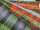 Scotch Tweed - Toppe di tessuto dai motivi scozzesi, 15 pezzi