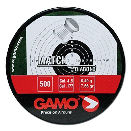 Gamo Diabolos Match geriffelt 4,5 mm