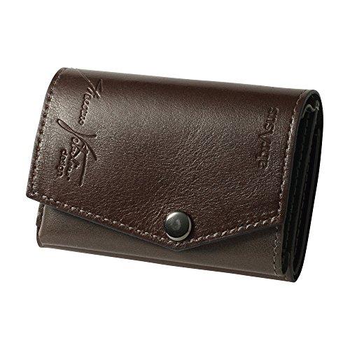 小さい財布 abrAsus × Giacomo Valentini チョコ